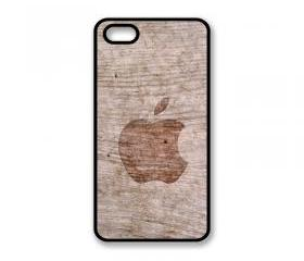 Hard Case For iPhone 4 Wood Effect Design With Logo iPhone 4S Hard Cover